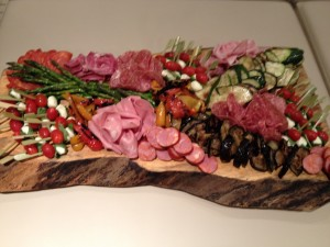 antipasto platter catering stouffville ontario