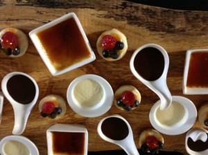 mini desserts catering stouffville ontario